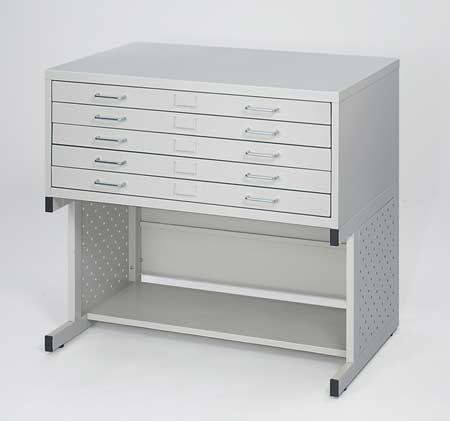 Flat files hoppers office and drafting furniture small flat file on high base malvernweather Gallery