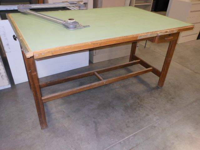 Hamilton Oak Drafting Table Parts