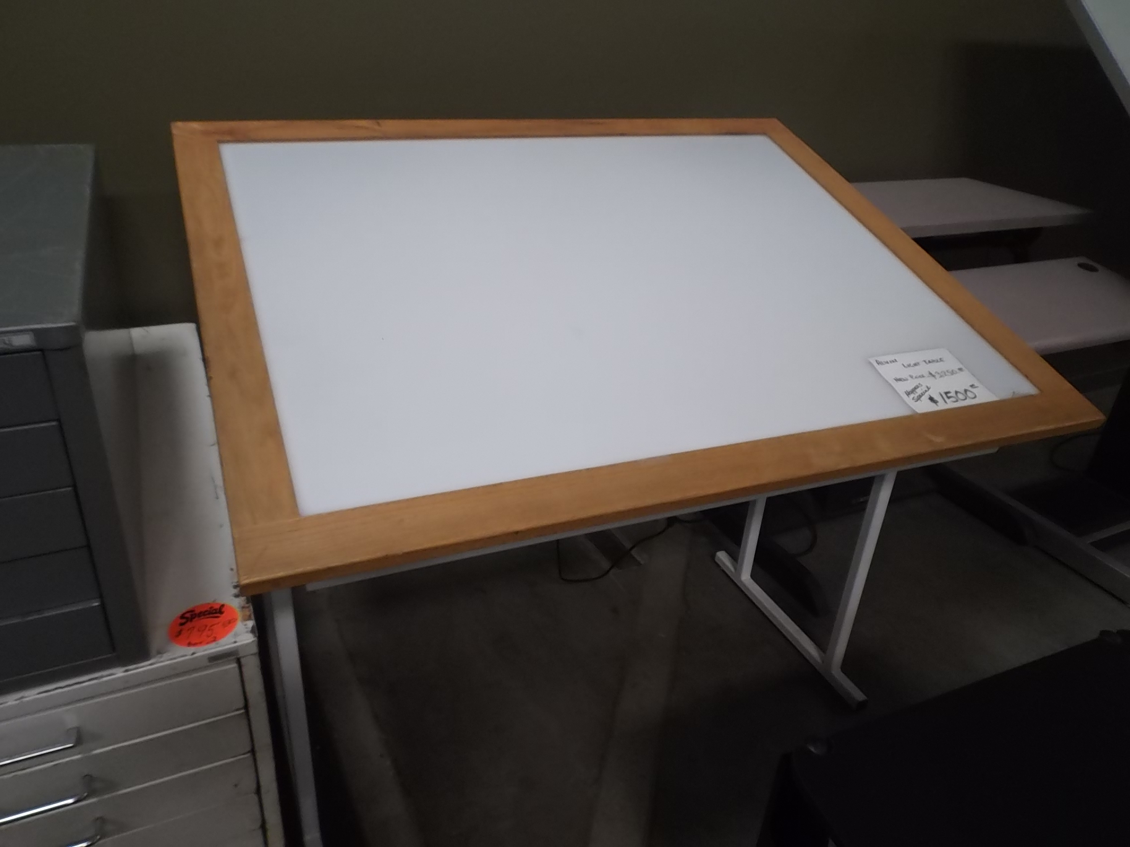 Lovely Used Light Table/Box