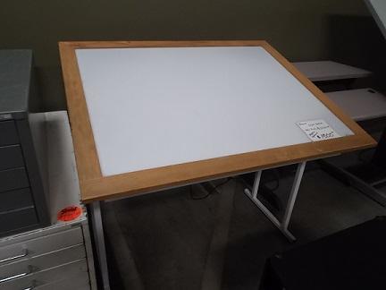 Used Light Table Box Hopper S Drafting Furniture