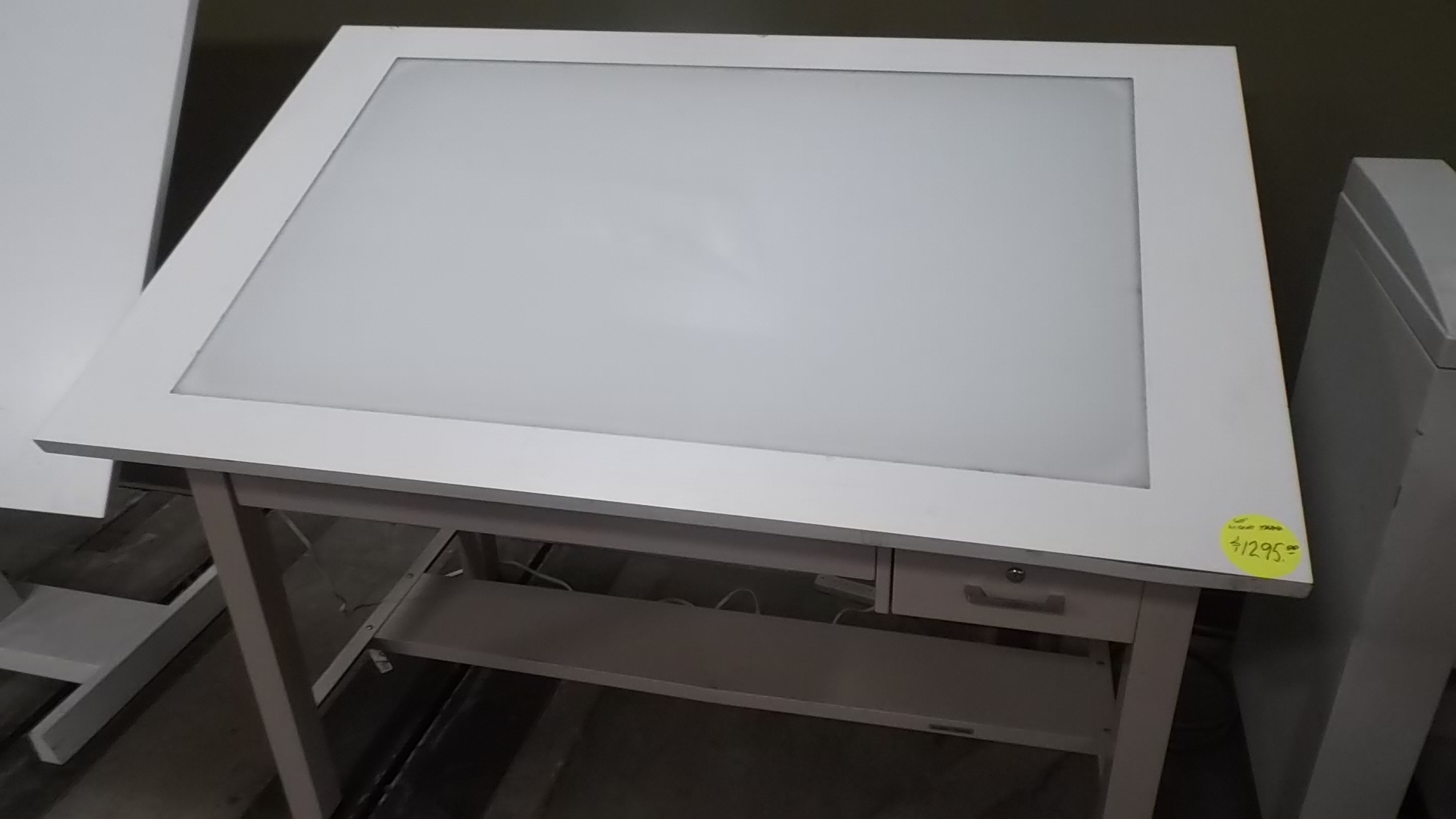 Used Light Table Box Hopper S Drafting Furniture