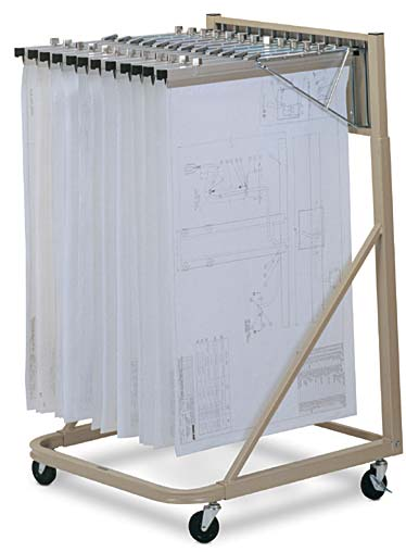 Vertical Drawing Files Hopper S Office And Drafting Furniture